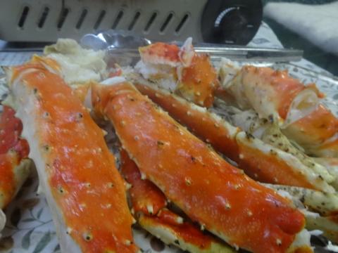 ②たらば蟹