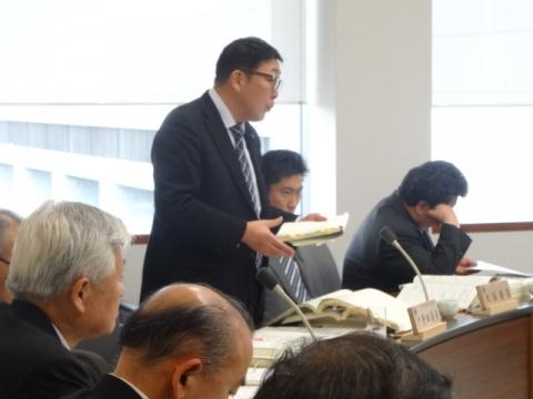 ①総務企画委員会 財政課長に質問3月10日