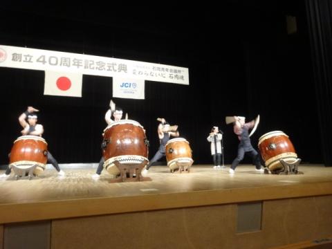 ①JC石岡40周年記念 みのり囃子