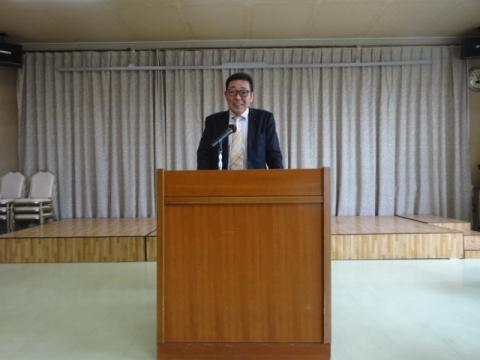 ④石岡地区交通安全対策推進協議会総会 挨拶