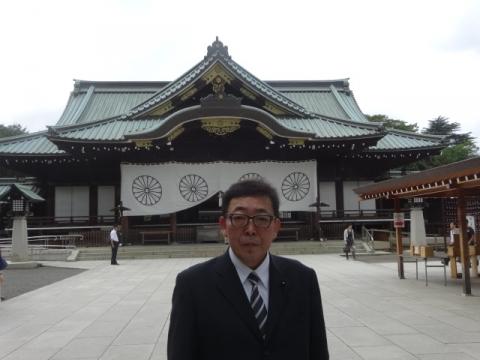 靖国神社② 記念写真