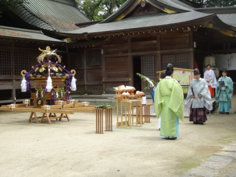 八坂神社神輿② 神事