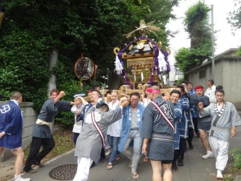 八坂神社神輿③ 宮出し總社宮