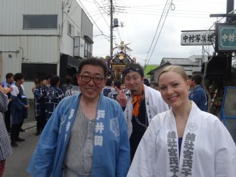 八坂神社神輿⑤ カナダの中学英語先生