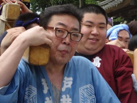 八坂神社神輿⑧ 高木君と