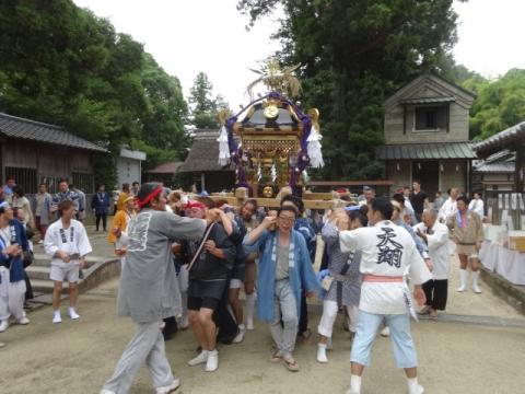 八坂神社神輿⑨ 宮入