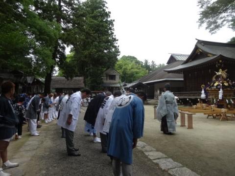 八坂神社神輿⑩ 宮入②