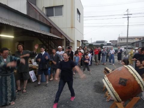 若松東納涼祭① 盆踊り