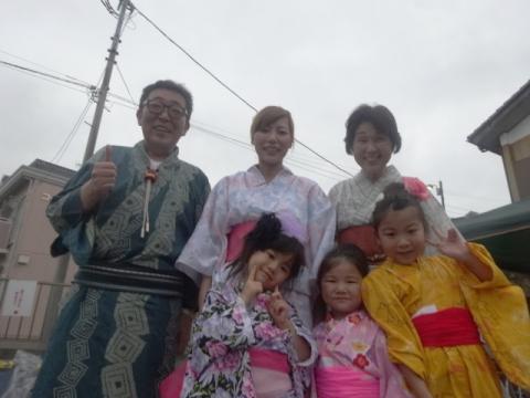 若松東納涼祭⑤ 記念撮影