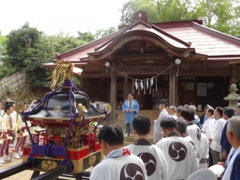 三村須賀神社祇園際 挨拶