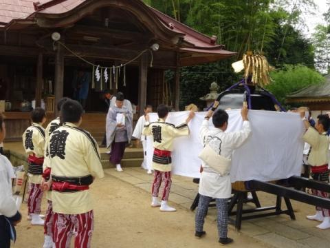 三村須賀神社祇園際 御霊遷し
