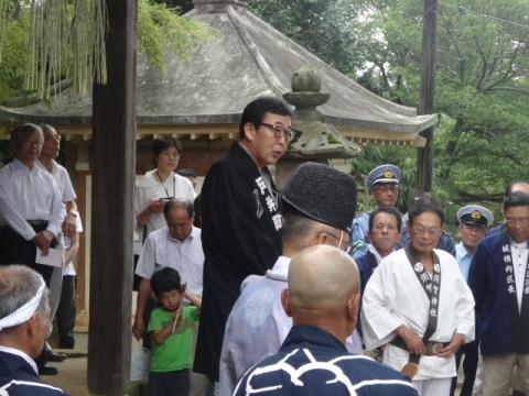 須賀神社祇園際② 挨拶
