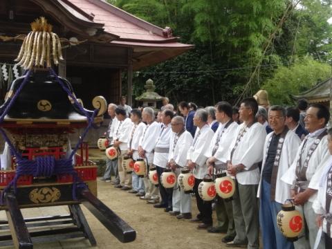 須賀神社祇園際⑤ 神社役員