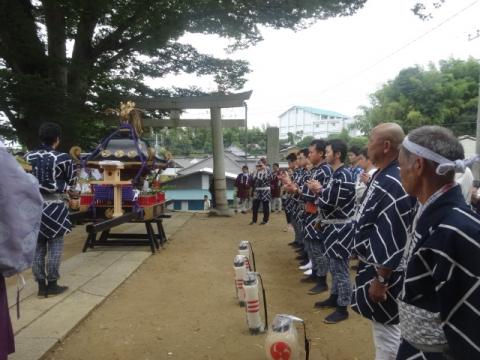 須賀神社祇園際⑥ 三村青年団