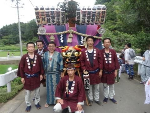 須賀神社祇園際⑦ 羽成子獅子連