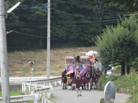 須賀神社祇園際⑧ 羽成子獅子