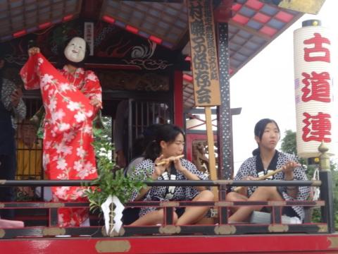 須賀神社祇園際⑪ 古道連おかめ