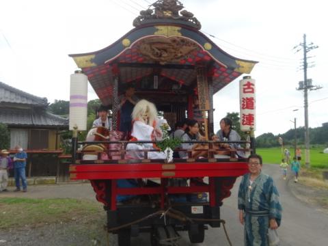 須賀神社祇園際⑫ 古道屋台