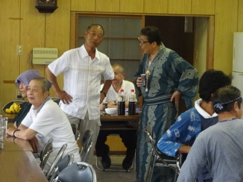 須賀神社祇園際⑮ 水内公民館