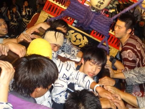 須賀神社祇園際⑯ 担ぎ手たち