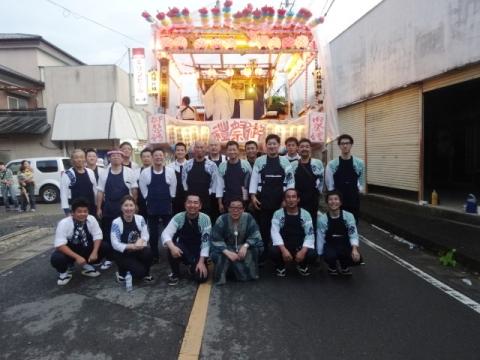 小幡祇園祭① 記念撮影