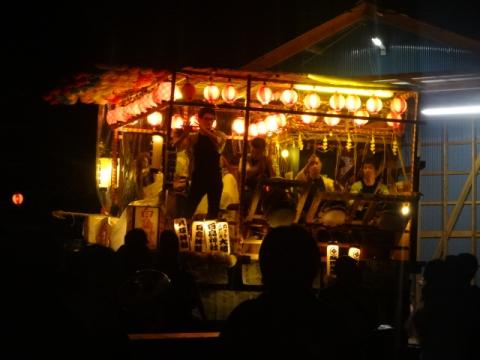 小幡祇園祭③ 山車