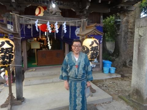 柿岡のおまつり⑦ 八坂神社