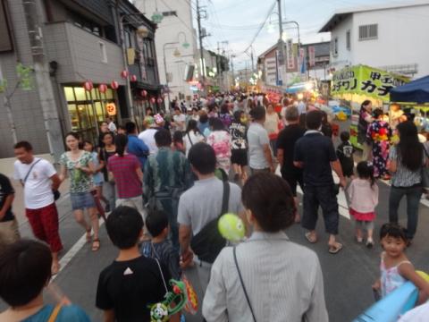 柿岡のおまつり⑪ 観光客