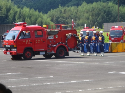 消防団操法大会④ 2分団協議開始