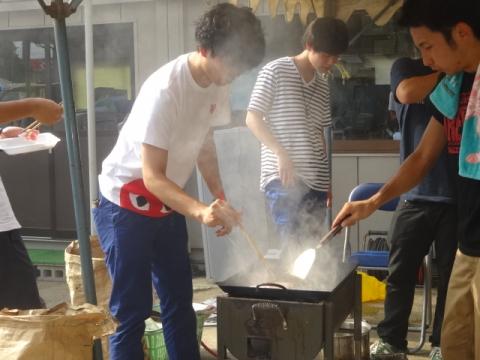 プール開きバーベキュー⑤ 焼き肉