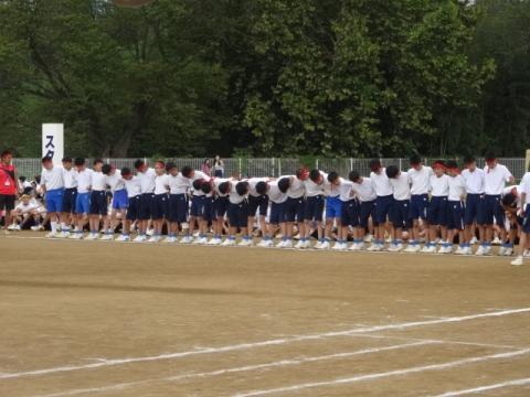 体育祭⑥八郷中 30人31脚