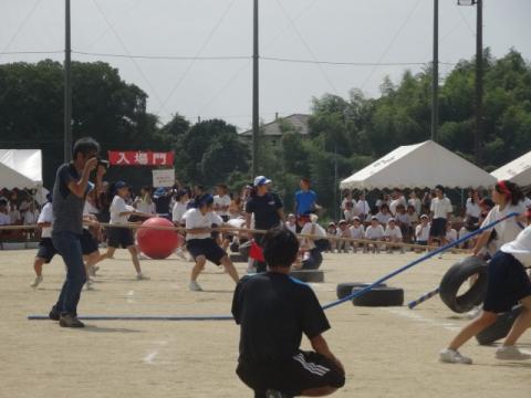 体育祭⑨府中中 綱引き
