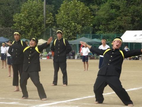 体育祭⑭城南中 応援団