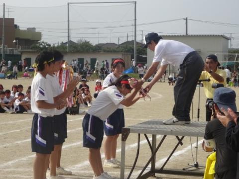 体育祭⑱石岡中 表彰式