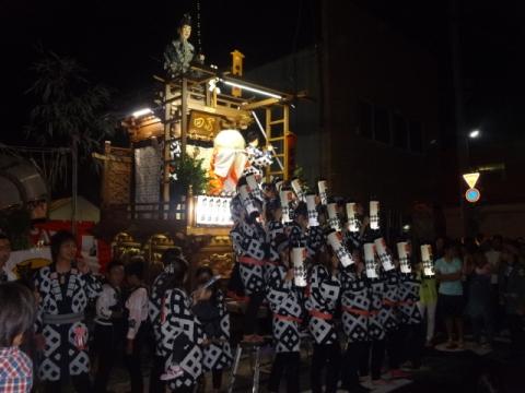 たたき初め⑩ 富田町