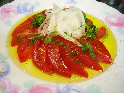 トマトのカルッパッチョ1