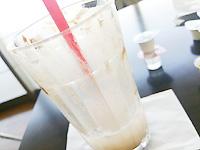 カフェで飲んだからのアイスモカ。。