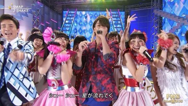【FNS歌謡祭】山下智久が、ももクロ・あーりんに惚れられたと話題に!