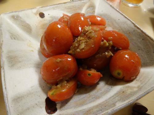 トマトのおつまみ201408
