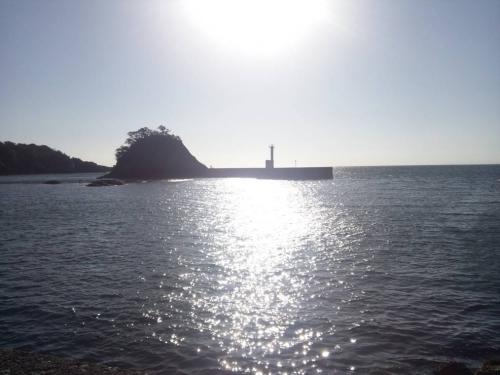 2014.3.22西伊豆の伊勢海老の巣がある竜宮島をアート的写真撮影できた