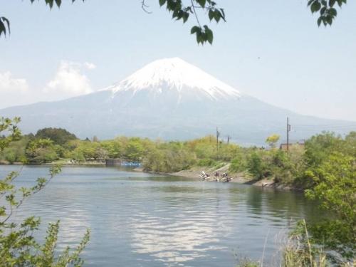 田貫湖の逆さ富士やダイヤモンド富士を撮影するポイントはココなのだろうか
