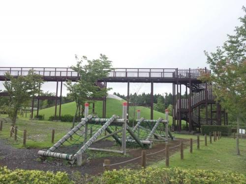 御殿場市の樹空の森付近にあった桜公園にドライブで寄った