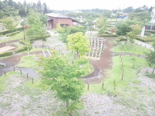 御殿場市桜公園のアスレチック展望台から南側を写真撮影してみた