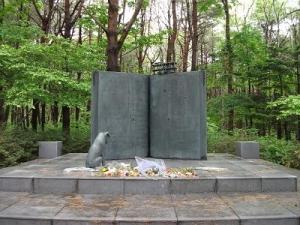 140522寺山修司文学碑