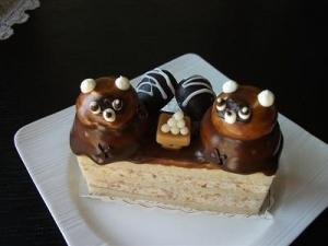 140912たぬきケーキ