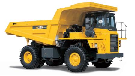 コマツ・ダンプトラック(リジットフレーム式・HD255-5)