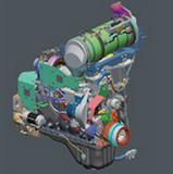 WA500-7 エンジン