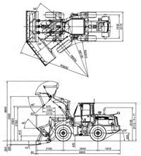 コマツ・ホイールローダー(WA200-6)