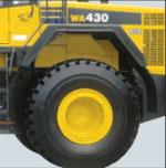 WA430-6の後輪