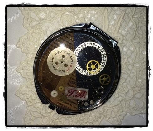 時計レジンのミラー